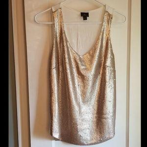 Gorgeous gold Worthington blouse